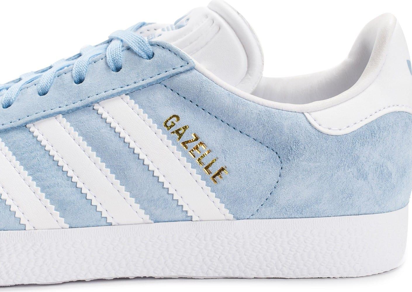 adidas gazelle femme bleu ciel