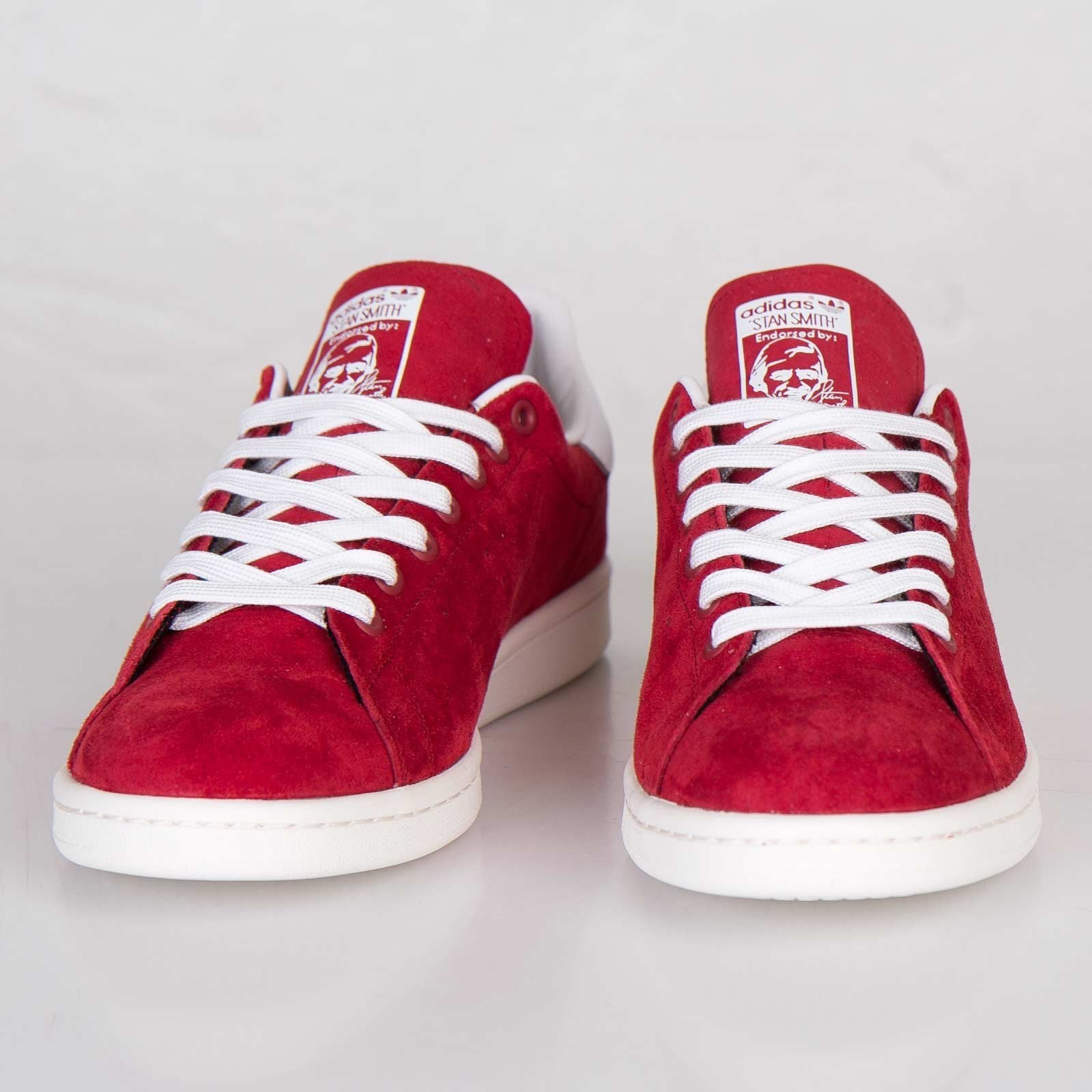 adidas femme stan smith rouge