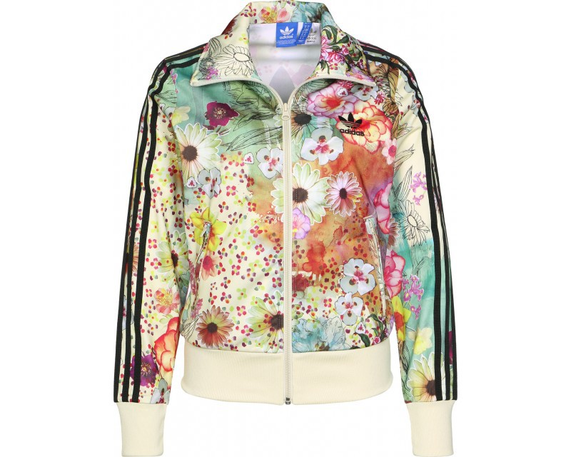 veste adidas fleurie femme - 50% remise -